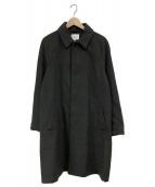 URBAN RESEARCH(アーバンリサーチ)の古着「サーモライトメルトンステンカラーコート」|グレー