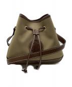 HUNTING WORLD(ハンティングワールド)の古着「Drawstring bag」 カーキ