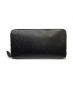 Larcobaleno(ラルコバレーノ)の古着「ラウンドジップ長財布」|ブラック