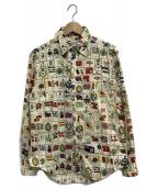 Paul Smith London(ポールスミスロンドン)の古着「総柄シャツ」|アイボリー