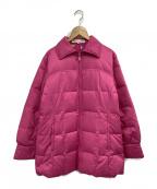LEONARD SPORT(レオナールスポーツ)の古着「ダウンジャケット」|ピンク