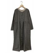 Samansa Mos2(サマンサモスモス)の古着「ワンピース」|グレー