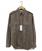 UMIT BENAN()の古着「CUBAN MILITARY SHIRT」|ベージュ