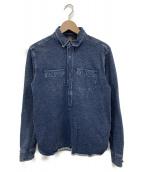 RRL(ダブルアールエル)の古着「プルオーバーコットンシャツ」|ブルー