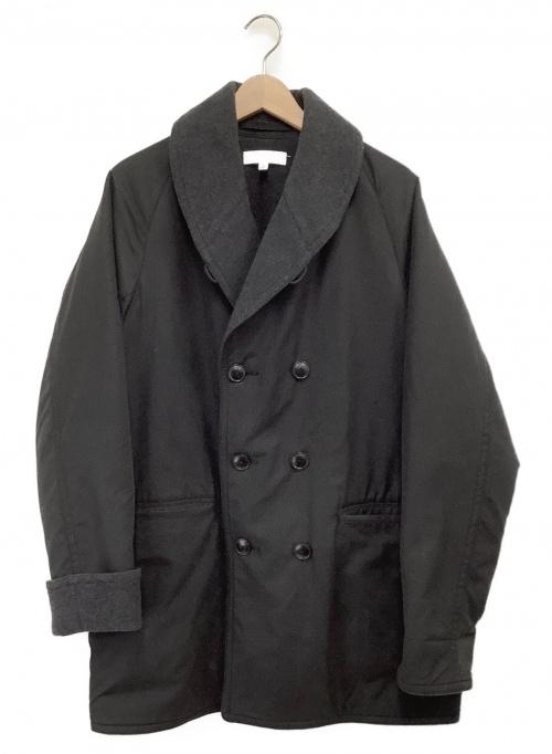 BEAUTY&YOUTH(ビューティーアンドユース)BEAUTY&YOUTH (ビューティーアンドユース) ダブルフェイスマッキーノコート ブラック サイズ:Lの古着・服飾アイテム