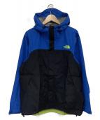 THE NORTH FACE(ザノースフェイス)の古着「ドットショットジャケット」|ブルー×ブラック