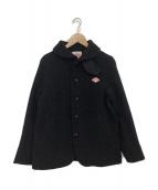 DANTON(ダントン)の古着「ウールモッサジャケット」|ブラック