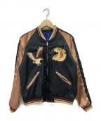 東洋エンタープライズ()の古着「リバーシブルスカジャン」|ブルー