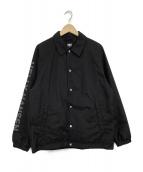 HELLY HANSEN(ヘリーハンセン)の古着「コーチジャケット」|ブラック