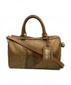 PRIMA CLASSE(プリマクラッセ)の古着「2WAYバッグ」 ブラウン