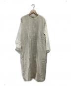 Samansa Mos2(サマンサモスモス)の古着「袖配色タックワンピース」|キナリ