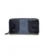 RODANIA()の古着「ワニ革長財布」|ブラック