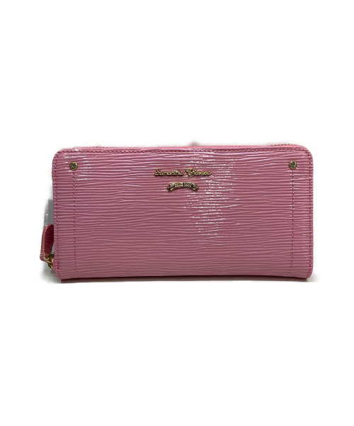 Samantha Thavasa(サマンサタバサ)Samantha Thavasa (サマンサタバサ) 長財布 ピンクの古着・服飾アイテム