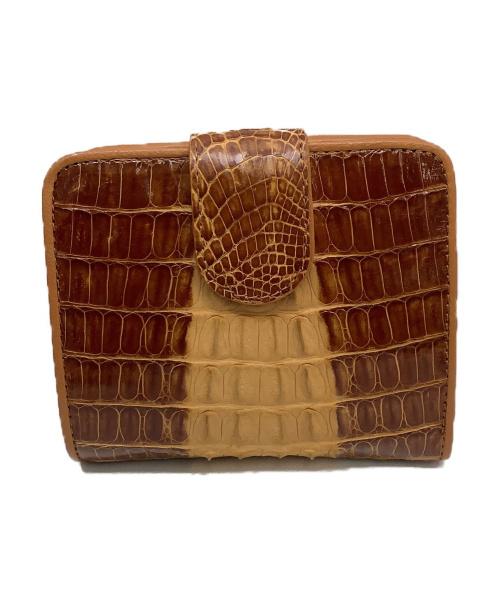 RODANIA(ロダニア)RODANIA (ロダニア) 2つ折り財布 ブラウンの古着・服飾アイテム