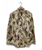 ()の古着「ルアー柄シャツ」|ベージュ