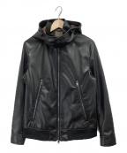 BLACK LABEL CRESTBRIDGE()の古着「レザージャケット」|ブラック