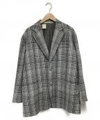 N.HOOLYWOOD()の古着「2Bジャケット」|グレー×ホワイト