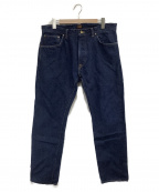 TCB jeans(ティーシービー ジーンズ)の古着「ストレートデニム」|インディゴ