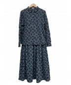 Sally Scott(サリースコット)の古着「ブラウス&スカート」|マルチカラー