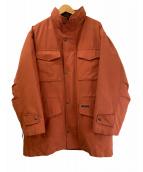 ()の古着「ライナー付M-65タイプコート」|オレンジ