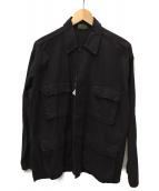 JOURNAL STANDARD(ジャーナルスタンダード)の古着「ROTHCOミリタリージャケット」 ブラック