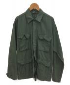 FRAMeWORK(フレームワーク)の古着「UNFORTUNATE PORTRAIT別注UPジャケット」 カーキ