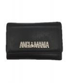 Vivienne Westwood(ヴィヴィアンウエストウッド)の古着「3つ折り財布」|ブラック
