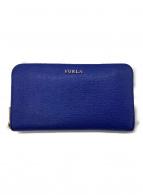 FURLA(フルラ)の古着「長財布」|ブルー