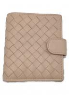 BOTTEGA VENETA(ボッテガヴェネタ)の古着「2つ折り財布」|ピンク