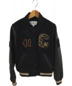 COACH(コーチ)の古着「スタジャン」|ブラック
