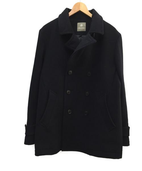 nano&co(ナノアンドコー)nano&co (ナノアンドコー) ウールPコート ネイビー サイズ:SIZE XLの古着・服飾アイテム