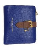 Samantha Thavasa PETIT CHOICE(サマンサタバサプチチョイス)の古着「2つ折り財布」|ブルー
