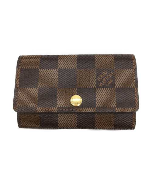 LOUIS VUITTON(ルイヴィトン)LOUIS VUITTON (ルイヴィトン) ミュルティクレ6 サイズ:- ダミエ N62630 CT0250の古着・服飾アイテム