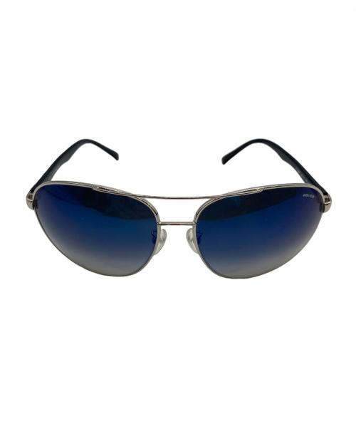 POLICE(ポリス)POLICE (ポリス) サングラス ブラック メタルフレーム S8641の古着・服飾アイテム