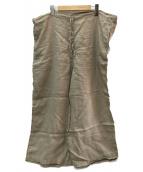 JOURNAL STANDARD LUXE(ジャーナルスタンダード ラックス)の古着「HTS LINEN OVERDY EASY PANTS」|ベージュ