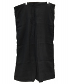 JOURNAL STANDARD LUXE(ジャーナルスタンダード ラックス)の古着「HTS LINEN OVERDY EASY PANTS」|ブラック