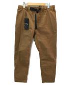 WILD THINGS(ワイルドシングス)の古着「クライミングパンツ」 ブラウン