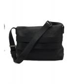HUNTING WORLD(ハンティングワールド)の古着「メッセンジャーバッグ」|ブラック