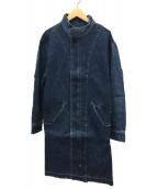 Ungrid(アングリッド)の古着「【Ca】リメイクデニムミドル丈コート」