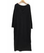 patterntorso(パターントルソー)の古着「ニットワンピース」|ブラック