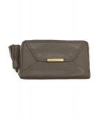 SEE BY CHLOE(シーバイクロエ)の古着「長財布」|グレージュ