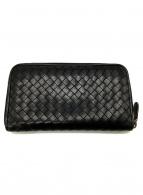 BOTTEGA VENETA(ボッテガヴェネタ)の古着「長財布」|ブラック