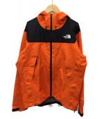 THE NORTH FACE(ザノースフェイス)の古着「クライムライトジャケット」|オレンジ×ブラック