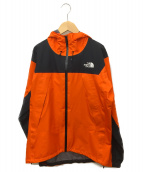 THE NORTH FACE(ザ ノース フェイス)の古着「クライムライトジャケット」|オレンジ×ブラック