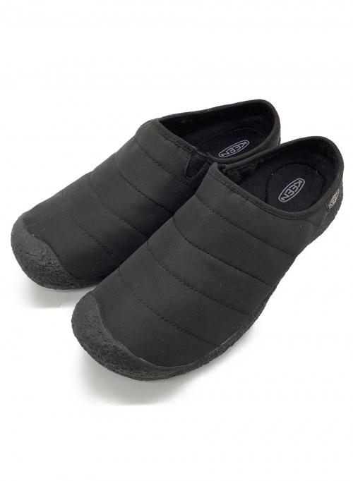 KEEN(キーン)KEEN (キーン) ハウザースライドスニーカー ブラック サイズ:28cmの古着・服飾アイテム