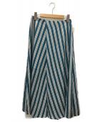 IENA(イエナ)の古着「マルチストスカート」|グリーン