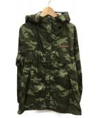 Columbia(コロンビア)の古着「ワバシュパターンドジャケット」|グリーン×ピンク
