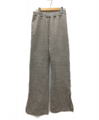 LAppartement(アパルトモン)の古着「AMERICANA スリットスウェットパンツ」 ライトグレー