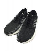 adidas(アディダス)の古着「ランニングシューズ」|ブラック