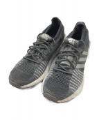 adidas(アディダス)の古着「ランニングシューズ」 グレー